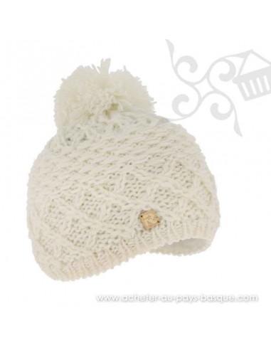 Bonnet blanc ICE 8508 Herman 1874 - Z'heros concept Biarritz - acheter bonnet basque
