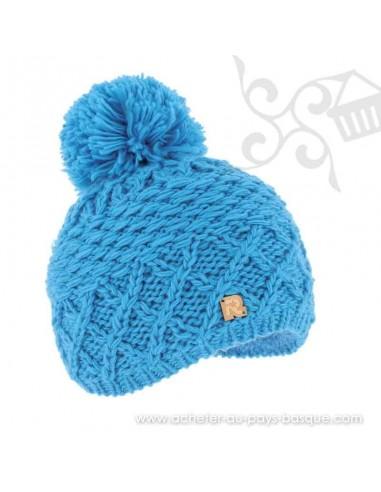 Bonnet bleu ICE 8508 Herman 1874 - Z'heros concept Biarritz - acheter bonnet basque
