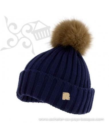 Bonnet bleu ICE 8518 Herman 1874 - Z'heros concept Biarritz - acheter bonnet basque