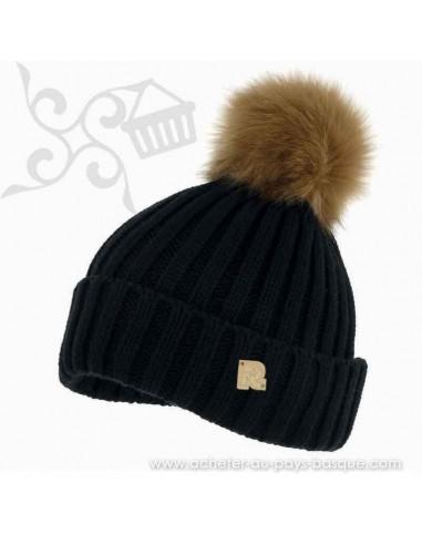 Bonnet noir ICE 8518 Herman 1874 - Z'heros concept Biarritz - acheter bonnet basque
