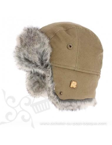 Chapka beige ICE 8518 Herman 1874 - Z'heros concept Biarritz - acheter bonnet basque