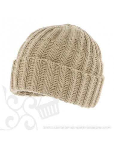 Bonnet beige 8185 Herman - Z'heros concept Biarritz - acheter bonnet basque