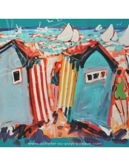 Les cabanes - Collection Patrick Plattier