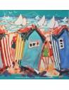 collection Plattier : Les cabanes - Tissus Ameublement - Tissus des Docks de la Negresse - Biarritz
