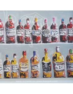 collection Patrick Plattier : Ma cave à vin - Tissus Ameublement - Tissus des Docks de la Negresse - Biarritz