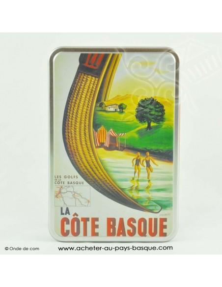 Boite à biscuit Basque