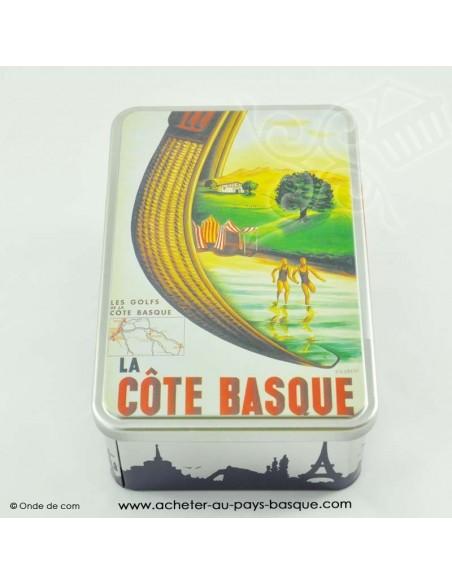 Boite à gateaux basque - epicerie traditionnelle cote basque - livraison courses domicile