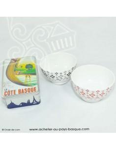 Coffret petit déjeuner - vaisselle bols epicerie basque - livraison course à domicile