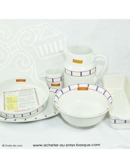 collection Plat Basque traditionnel - vaisselle collection basque - livraison courses domicile