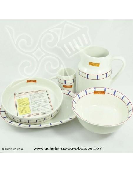 collection Saladier basque traditionnel - vaisselle basque - livraison courses domicile