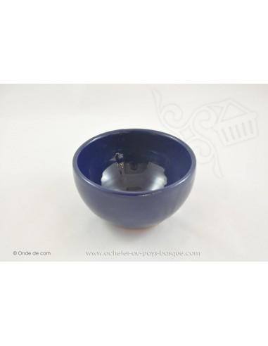 Bol à soupe Coupelle Chinoise bleu - en Terre cuitede Jean de la Terre - Ekibidea Cambo les Bains