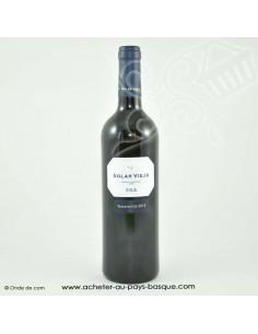 Vin Rioja solar viejo - vin basque espagnol - livraison course à domicile