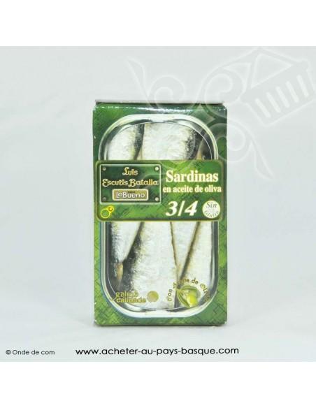 Sardines Espagnole à l'huile d'olive