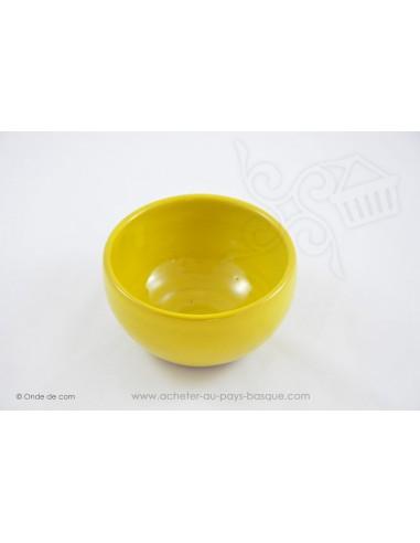 Bol à soupe Coupelle Chinoise jaune - en Terre cuitede Jean de la Terre - Ekibidea Cambo les Bains