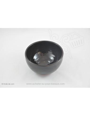 Bol à soupe Coupelle Chinoise noir - en Terre cuitede Jean de la Terre - Ekibidea Cambo les Bains