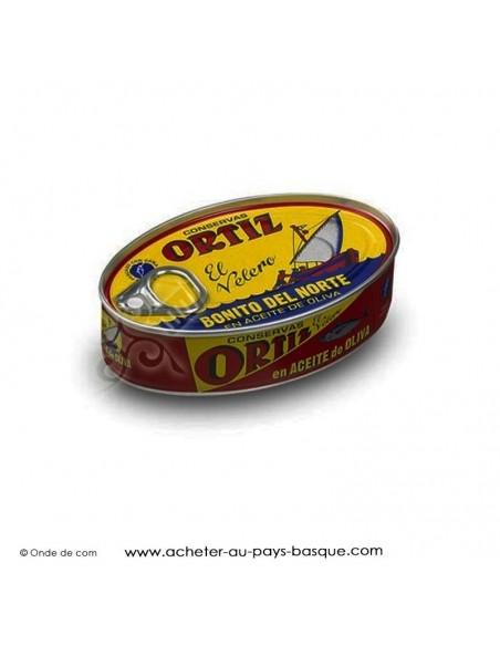Bonite Ortiz à l'huile d'olive en conserve
