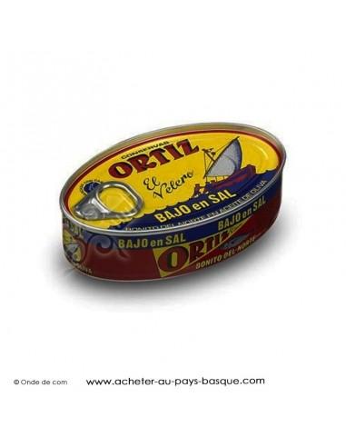 Bonite Ortiz huile d'olive en conserve sans sel - espagnole cuisine basque - livraison à domicile bayonne biarritz anglet