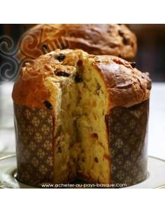 Le vrai Panettone Italien - gâteau italien artisanal - maison dezamy glacier biarritz - livraison bayonne anglet