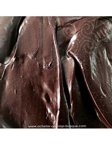 glace parfum chocolat - gâteau artisanal - maison dezamy glacier italien biarritz - livraison bayonne anglet