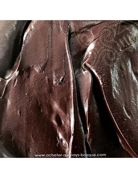 Glace artisanale parfum chocolat
