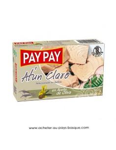 Thon huile olive Pay Pay - aperitif conserve espagnole - livraison a domicile bayonne biarritz anglet