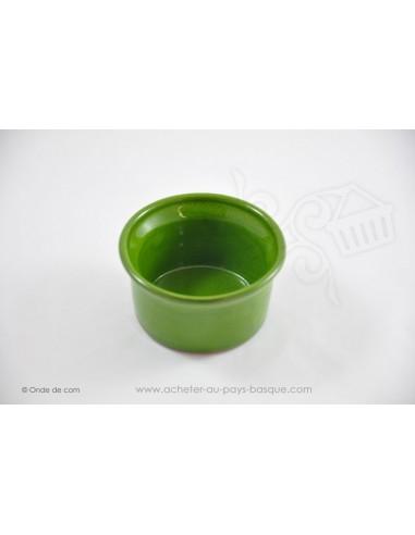 Ramequin vert - céramique de Jean de la Terre - Ekibidea Cambo les Bains
