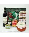 Coffret Gourmand Basque rouge - boutique produit regionaux - Basco'thentic Bidart - livraison de course bayonne anglet biarritz