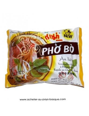 Nouille chinoise Pho bo boeuf - produit asiatique - livraison a domicile BAB