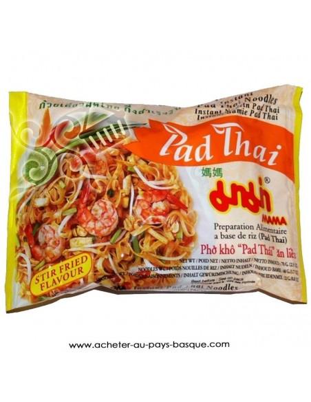 Nouille chinoise Pad Thaï crevette