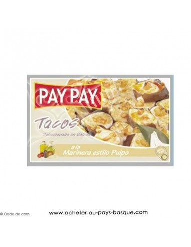 Poulpe marinière Pay Pay - produits espagnols - épicerie espagnole - conserve livraison