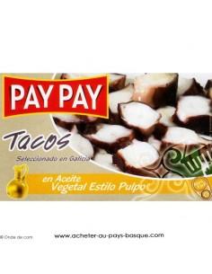 Poulpe huile d'olive Pay Pay - produits espagnols - épicerie espagnole - conserve livraison