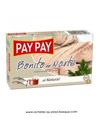 Bonite naturel Pay Pay - conserve epicerie produits espagnols - livraison a domicile bayonne biarritz anglet