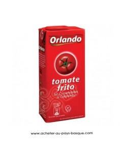 Sauce tomate orlando - conserve epicerie produits espagnols - livraison a domicile bayonne biarritz anglet
