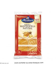 Madeleine espagnole - Magdalenas Martinez epicerie sucrée espagnole - produit gateau espagnol