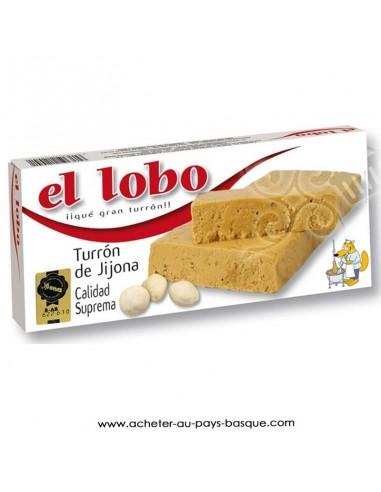 Nougat mou Jijona El Lobo - epicerie sucrée espagnole - produits espagnols - livraison