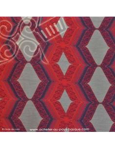 tissu brocard violet tissu ameublement docks negresse. Black Bedroom Furniture Sets. Home Design Ideas