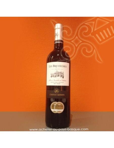 "Vin du Liban Les Brétèches «  château Kefraya """
