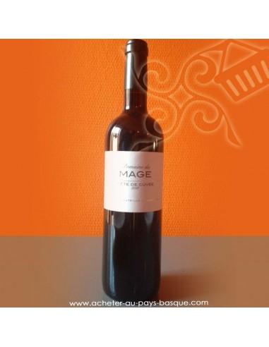 Vin rouge Mage tete de cuvee 2015 - bidaian bayonne - produit oriental - épicerie saveurs du monde