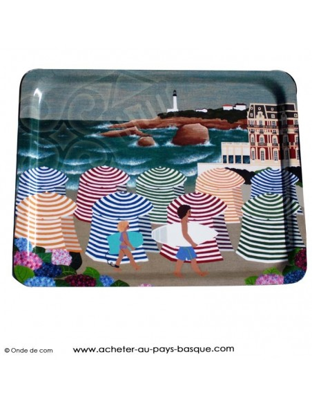 Plateau tableau biarritz