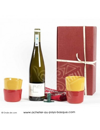 Coffret Gourmand Basque bodega - epicerie basque espagnole - boutique produit regionaux - Basco'thentic Bidart