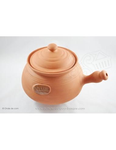 Diable céramique - Cocotte céramique en Terre cuite - Jean de la Terre - Ekibidea Cambo les Bains