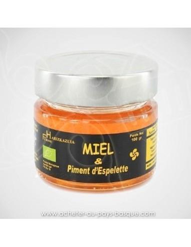 Miel et piment d'Espelette - Bipertegia producteur Basque de piment d'Espelette - Espelette en vente