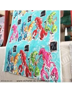 Pince mi Pince moi - collection patrick Plattier - Tissus Ameublement - Tissus des Docks de la Negresse Biarritz