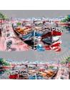 Nouvelle Vague Port - collection patrick Plattier - Tissus Ameublement - Tissus des Docks de la Negresse Biarritz