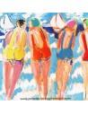 Les Sœurs B - collection patrick Plattier - Tissus Ameublement - Tissus des Docks de la Negresse Biarritz