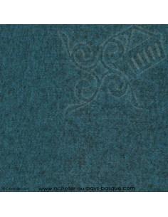 Rive Gauche tissu bleu foncé canard thevenon - Ameublement recouvrement  - Tissus des Docks de la Negresse Biarritz