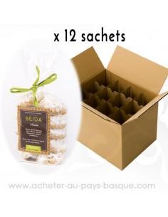 Biscuit Beida Noisette - bidaian bayonne - produits marocaines - épicerie saveurs du monde - conserve livraison