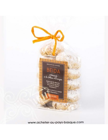 Biscuit Beida fleur d'oranger