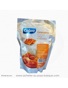 Calamars sauce américaine Calvo - conserve epicerie produits espagnols - produits de la mer st jean de luz