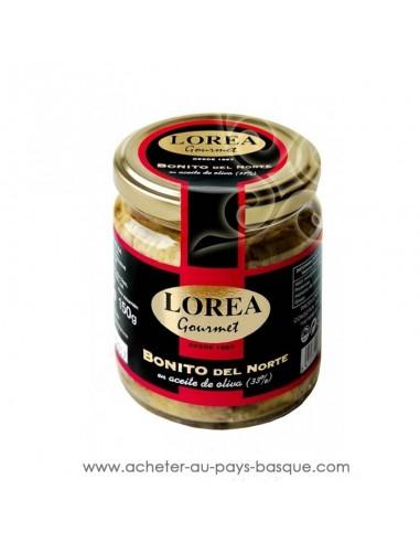 Bonite Lorea boite huile olive - epicerie espagnole - cuisine conserve basque - livraison course à domicile